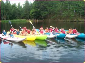 randonnée en canoé et en kayak